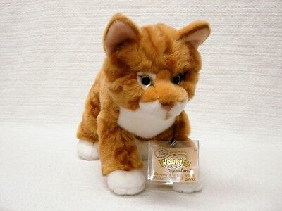 WEBKINZ*SIGNATURE wks 1016 ORANGE TABBY CAT WITH SEALED CODE ~VERY CUTE~AWESOME!