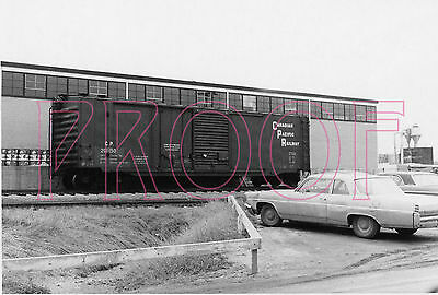 Canadian Pacific Railways (CPR) Boxcar 201150 - 8x10 Photo