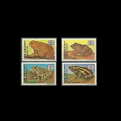 Lesotho 1994 Frogs. MNH