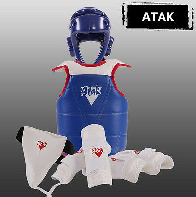 Taekwondo sparring equipment Protective Gear Thickening sets 5pc/set