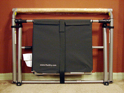 Fluidity bar system & 4 Fluidity fitness evolved DVD's