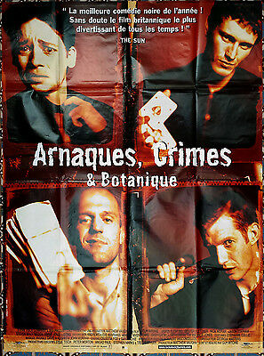 1998 LOCK STOCK AND TWO SMOKING BARRELS Guy Ritchie 47x63 french film poster