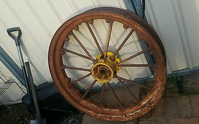 old vintage antique collectable wheel