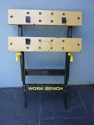 Folding work bench And Vice