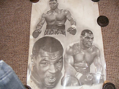 Mike Tyson Laminated Wall Poster