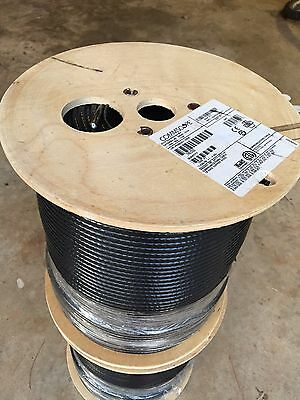 Commscope 18AWG Copper Steel RG6 Communications Cable 1000 FT