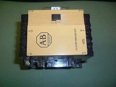Allen Bradley 100 A75Nd3 Contactor 110/120 Vac 50/60 Hz............... New Boxed