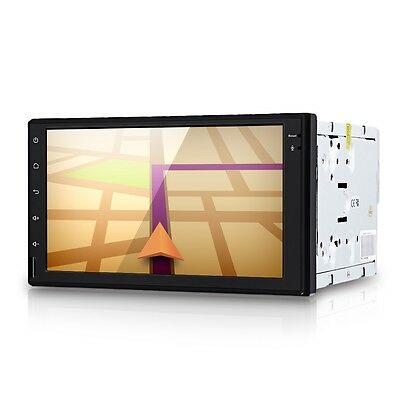 """New 7"""" Touch Screen 2Din In-Dash Car GPS Multi-media MP3 Player Bluetooth Radio"""