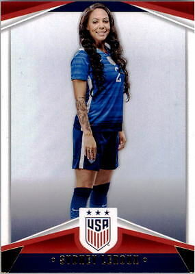 2016 Panini USA Soccer USA National Team #16 Sydney Leroux