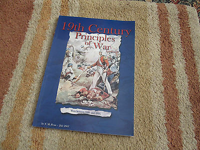 19th Century Principles of war (between 1820 and 1914) Wargaming Rules Book