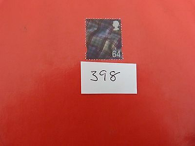 A 64p MNH STAMP FROM SCOTLAND sg s97 HIGH CAT VALUE £9