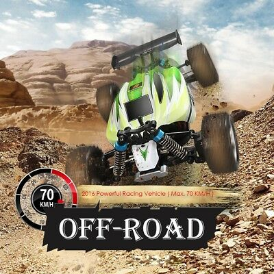 Neuf WLtoys A959-B1/18 70KM/h 4WD OFF-Road Véhicule 2.4G Haut Vitesse RC Voiture