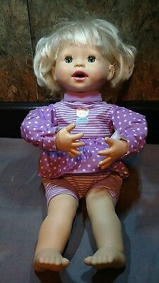 "Fisher-Price Mattel Little Mommy ""My Very Real Baby Doll"" Interactive Date 2006"