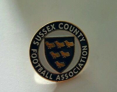 VGC Sussex County Football Association  Pin Badge