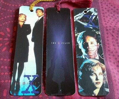Set Of 3 Card Bookmarks 1996 - The X Files.