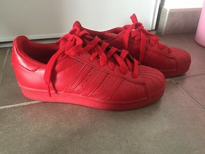 Chaussures femme Adidas rouge taille 38