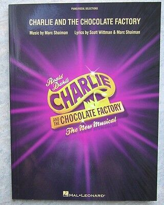 Charlie and the Chocolate Factory for piano, vocal and with guitar chords *NEW*