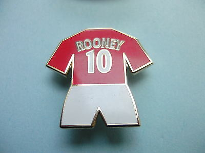 United Badge - Rooney 10 - Manchester