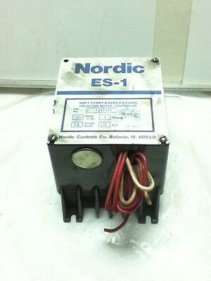 Used Nordic Es-1 Induction Motor Controller