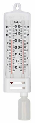 Baker B6030 Wet/Dry Bulb Hygrometer with a range of -10 to 122°F (-15 to 50°C)