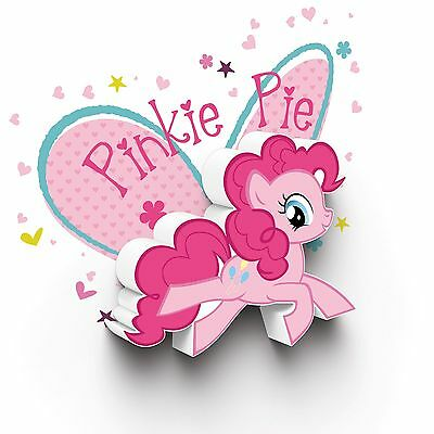 My Little Pony Pinkie Pie 3D Led Deco Wall Light Girls Kids Bedroom Lighting