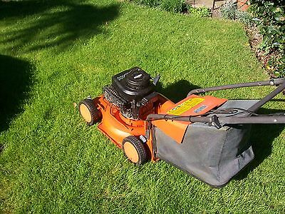 Flymo Petrol Rotary Mower With Grassbox