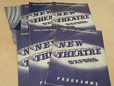 Lot of 1950s New Theatre Oxford Programmes - See Pics for Details