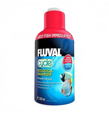 FLUVAL BIOLOGICAL CYCLE  WATER FILTER BACTERIA FISH TANK NUTRAFIN 250ml