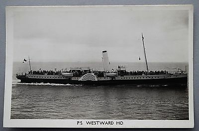 P & A Campbell Paddle Steamer 'Westward Ho'