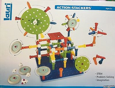 Lauri Toys Action - Stackers BIG BUILDER SETS Imagination