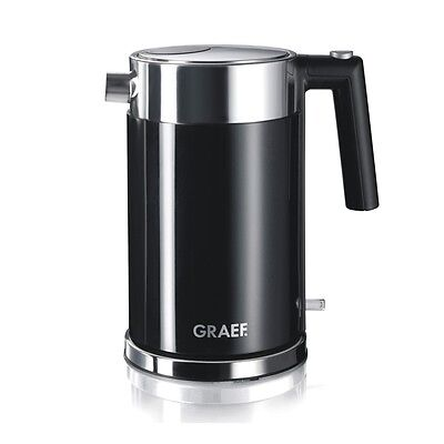 Graef WK62 1.5 Litre 2000W Stainless Steel Acrylic Gloss Black