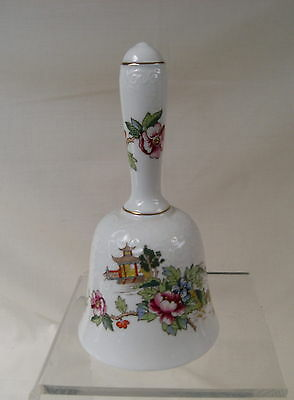 Crown Staffordshire Fine Bone China 'Pagoda' Decorative Small Bell