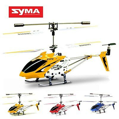 Syma S107G 3CH Mini Remote Control RC Helicopter GYRO New High Quality SFR