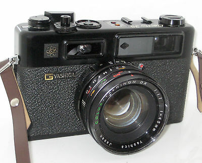 Yashica Electro 35 Electro35 Gt Black Serviced 100% Funzionante Full Working