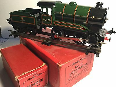 "Hornby ""O"" Gauge No.51 Locomotive & Tender (original box) circa 1954"