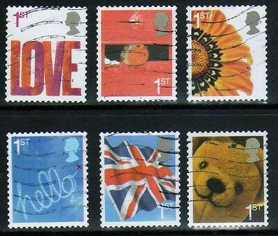 2005 Smilers Booklet Stamps - First series set (SG2567-SG2572)