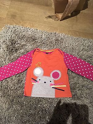 Baby Girl M&S Top Size 18-24 Months
