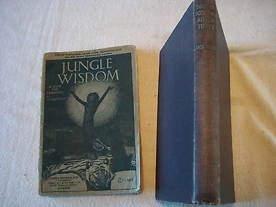 The Book of Scouting Adventures 1940 - Jungle Wisdom, A Book for Cubmasters 1925