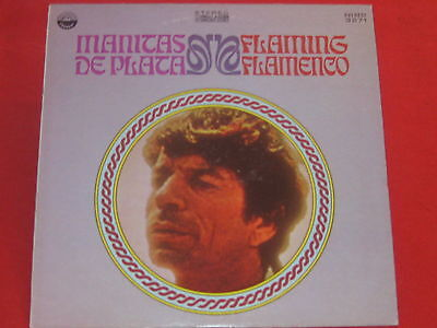 MANITAS DE PLATA - Flaming Flamenco  - LP - 1968 -