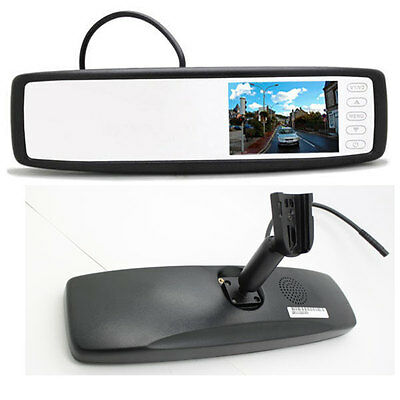 4.3″ High Brightness Dual Video Inputs Rear View Mirror Monitor with OEM Bracket