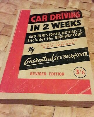 Retro driving theory book