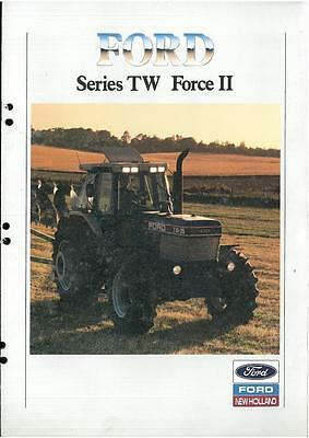 Ford Tractor Series TW Force II - TW15 TW25 TW35 Brochure