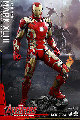 Hot Toys Iron Man Mark43 1/4 Quarter Scale Series