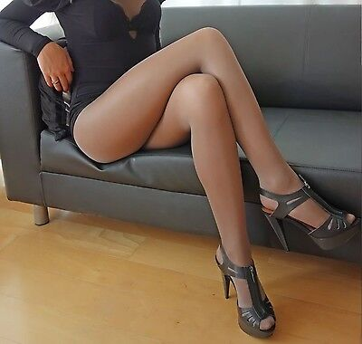 "Collant USATE Natural. Pantyhose Sexy ""Nature"" USED"
