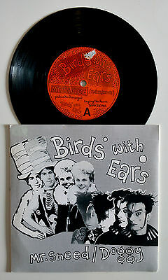 """Birds With Ears - Mr.Sneed/Doggy  7"""" Vinyl Single New Wave 1983"""