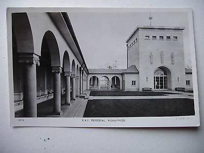 R.A.F. Memorial, Runnymede - vintage real photograph