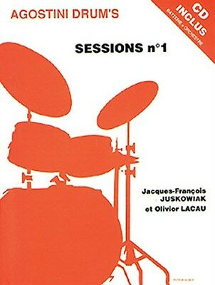 Sessions Volume 1 (Book/CD). Drums Sheet Music, CD