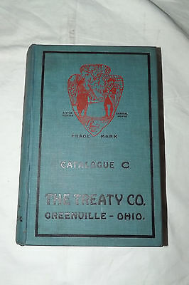 "1919 Vintage""the Treaty Co."" Greenville,ohio  Plumbing, Heating Supplies Catalog"