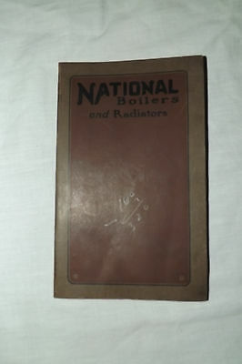 1919 National Boilers And Radiators Catalog  ~ National Radiator Co.