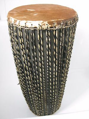 Authentic Skin Covered African Drum